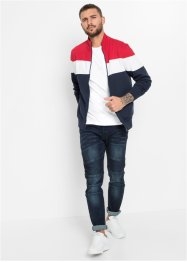 Gilet sweat-shirt, Slim Fit, RAINBOW