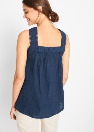 Top-blouse en coton, bpc bonprix collection