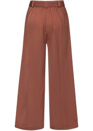 Pantalon large en satin, BODYFLIRT