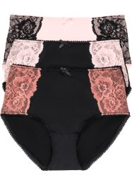 Lot de 3 maxi slips microfibre, bpc selection