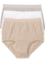 Lot de 3 slips taille haute, bpc bonprix collection