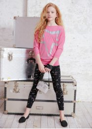 T-shirt long fille + legging (Ens. 2 pces.), bpc bonprix collection
