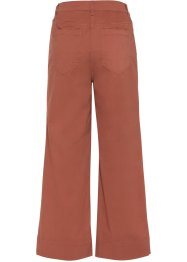 Pantalon extensible 7/8, jambes larges, BODYFLIRT