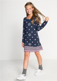Robe fille à manches longues en jersey, bpc bonprix collection