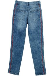 Pantalon fille à taille extensible look sweat, John Baner JEANSWEAR