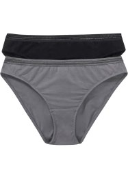 Lot de 2 slips Feel Comfort, bpc bonprix collection