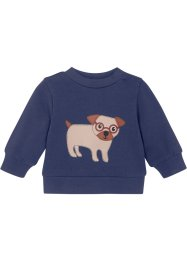 Sweat-shirt bébé coton bio, bpc bonprix collection