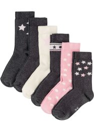 Lot de 6 paires de chaussettes femme, bpc bonprix collection