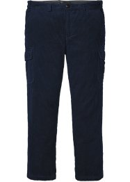 Pantalon cargo en velours côtelé, Regular Fit, bpc selection
