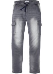 Jean-jogging Slim Fit avec poches cargo, Straight, John Baner JEANSWEAR