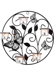 Porte-bougie mural papillons/sarments, bpc living bonprix collection