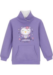 Sweat-shirt polaire fille, bpc bonprix collection