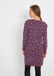 Robe sweat imprimée, bpc bonprix collection