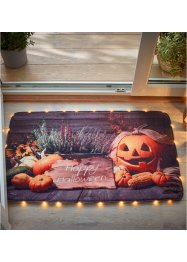 Tapis déco LED motif citrouille, bpc living bonprix collection