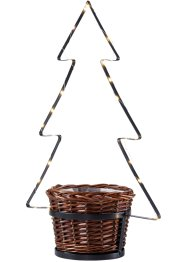 Cache-pot avec sapin de Noël LED, bpc living bonprix collection