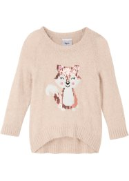 Pull duveteux fille, bpc bonprix collection