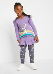 T-shirt et legging fille (Ens. 2 pces.) coton bio, bpc bonprix collection