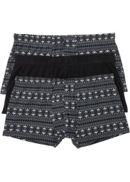 Lot de 3 boxers courts, bpc bonprix collection