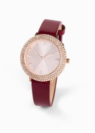Montre bracelet cuir, bpc bonprix collection