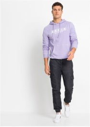 Jean cargo Regular Fit en coton bio, Straight, RAINBOW