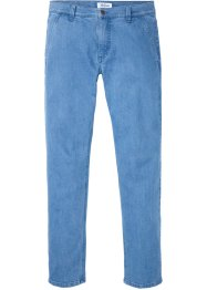 Jean extensible chino en coton bio, Regular Fit, John Baner JEANSWEAR