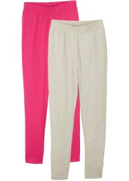 Lot de 2 leggings fille, bpc bonprix collection