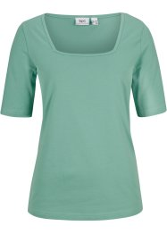 T-shirt en coton bio, mi-manches, bpc bonprix collection