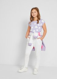 Pantalon sweat fille en coton bio, bpc bonprix collection