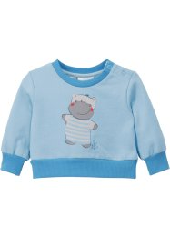 Sweat-shirt bébé en coton bio, bpc bonprix collection