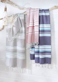 Drap de hammam à rayures, bpc living bonprix collection