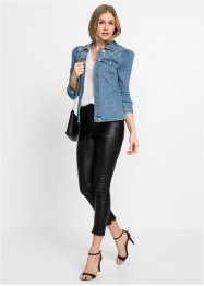 Veste en jean avec application, BODYFLIRT