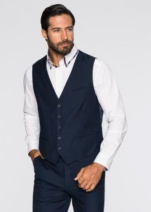 Gilet de costume Regular Fit, bpc selection, bleu foncé