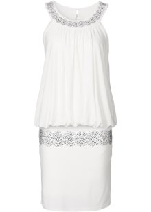 Robe de cocktail, BODYFLIRT, blanc cassé