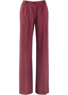 Pantalon extensible ample, bpc bonprix collection, rouge érable