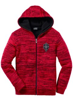 Blouson en maille outdoor Regular Fit, RAINBOW, rouge