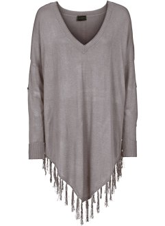 Poncho à franges, BODYFLIRT boutique