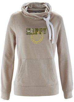 Sweat col roulé, bpc bonprix collection