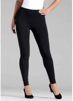 Lot de 2 leggings, BODYFLIRT, noir + noir