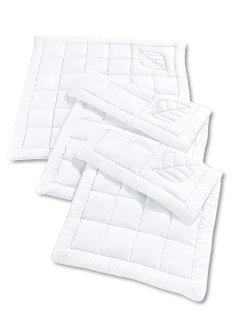 Couette anti-allergies, bpc living, blanc