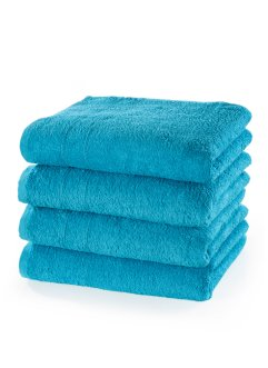 Lot de 4 serviettes de toilette Vio, bpc living