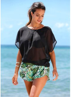 T-shirt de plage, bpc selection, noir