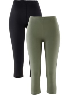 Lot de 2 leggings corsaire extensibles, bpc bonprix collection