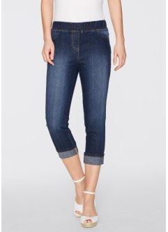 Jegging 3/4, bpc bonprix collection, dark denim