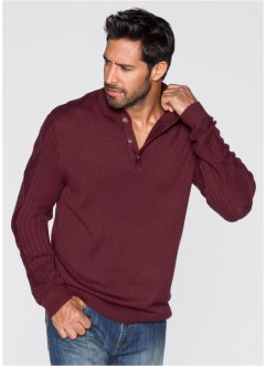 Pull Regular Fit, John Baner JEANSWEAR, bordeaux