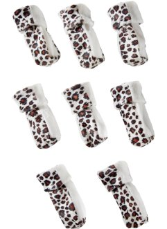 Lot de 8 chaussons de chaise Leo, bpc living