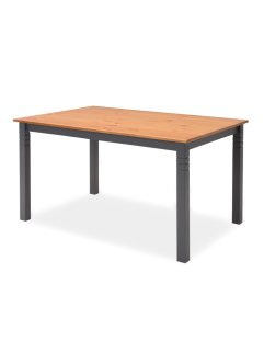 Table Jesper, bpc living, gris/naturel