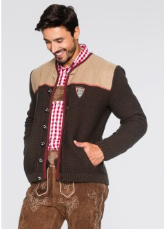 Gilet en maille bavarois Regular Fit, bpc selection