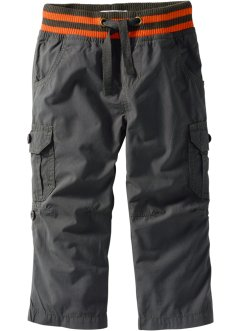 Pantalon cargo retroussable, John Baner JEANSWEAR, anthracite
