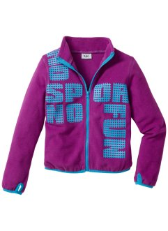 Veste polaire, bpc bonprix collection, pivoine