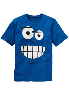 T-shirt, bpc bonprix collection, bleu azur
